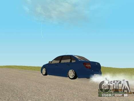 VAZ 2190 para GTA San Andreas vista interior