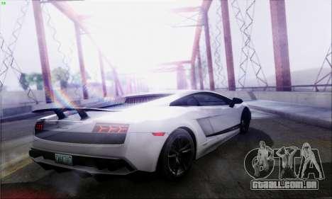 Lensflare By DjBeast para GTA San Andreas nono tela