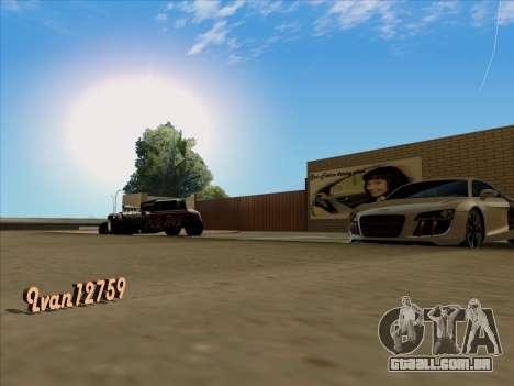 Atualizado texturas escola de condução para GTA San Andreas
