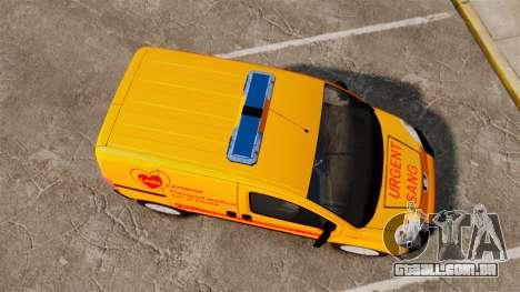 Peugeot Bipper LP EXPRESS [ELS] para GTA 4 vista direita