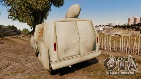 Van-sem noção- para GTA 4 traseira esquerda vista