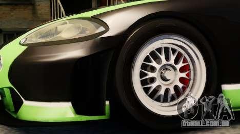 Jaguar XKR GT para GTA 4 vista direita