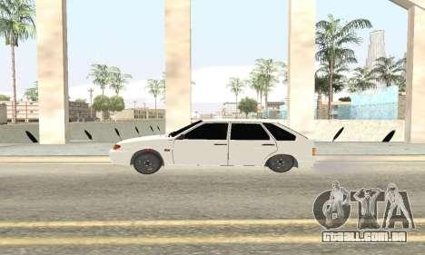 VAZ 2114 Avtosh para GTA San Andreas vista direita