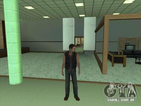 Daryl Dixon para GTA San Andreas terceira tela
