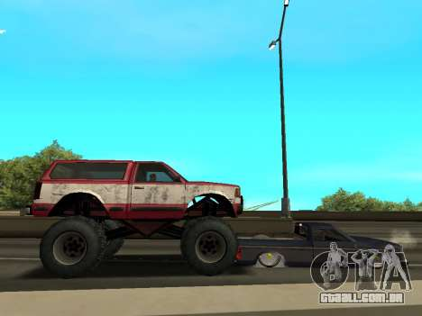 Street Monster para GTA San Andreas vista inferior