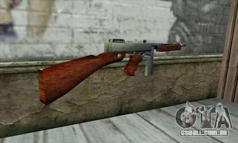 Thompson M1 para GTA San Andreas segunda tela