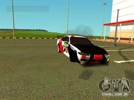 Nissan Silvia S15 Team Dragtimes para vista lateral GTA San Andreas