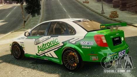 Chevrolet Lacetti para GTA 4 esquerda vista