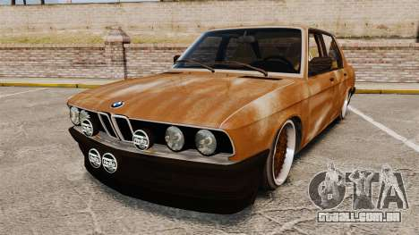 BMW 535is E28 Sharkie para GTA 4