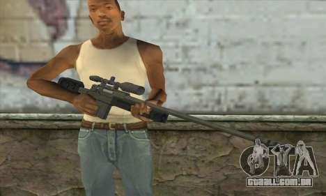 GTA V Sniper rifle para GTA San Andreas terceira tela