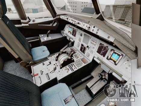 Airbus A320-211 China Eastern para GTA San Andreas vista inferior