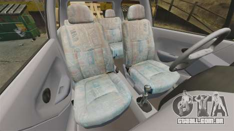 Daewoo Matiz SE 1998 para GTA 4 vista interior