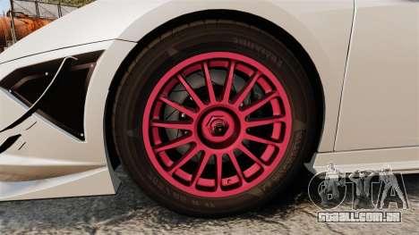 Lamborghini Gallardo LP570-4 Super Trofeo para GTA 4 vista de volta