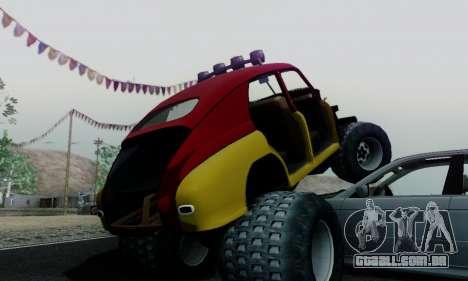 GÁS M20 Monstro para GTA San Andreas vista interior