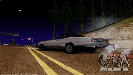 Dodge Coronet RT 1969 440 Six-pack para GTA San Andreas esquerda vista
