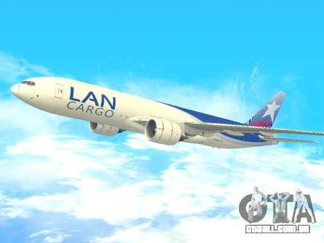 Boeing 777 LAN Cargo para GTA San Andreas