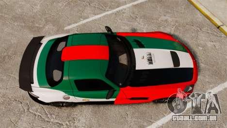 Mercedes-Benz SLS 2014 AMG UAE Theme para GTA 4 vista direita