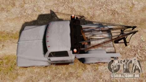 GTA IV TLAD Vapid Tow Truck para GTA 4 vista direita