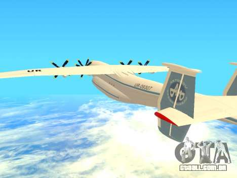 An-22 Antei para vista lateral GTA San Andreas