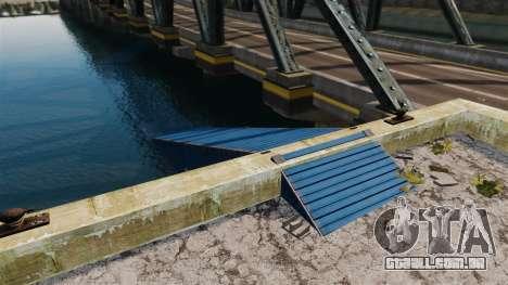 A estrada debaixo da ponte para GTA 4 segundo screenshot