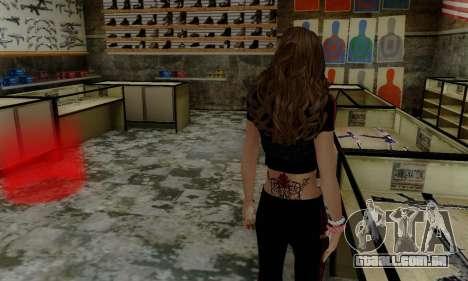 Carlita para GTA San Andreas terceira tela