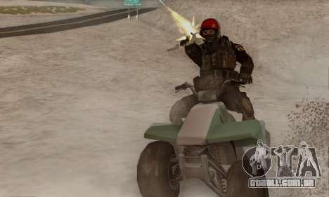 Kopassus Skin 1 para GTA San Andreas segunda tela