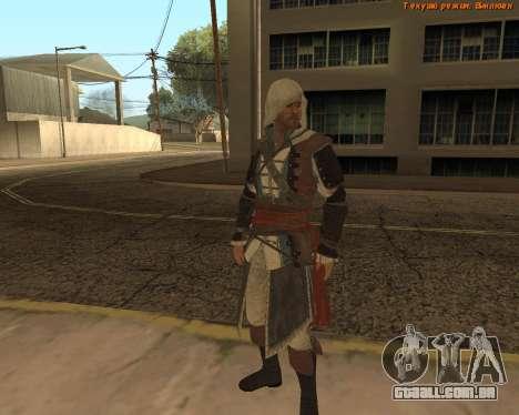 Assassino Edward para GTA San Andreas