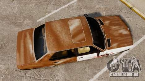 BMW 535is E28 Sharkie para GTA 4 vista direita