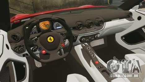 Ferrari F12 Berlinetta 2013 [EPM] Deaths-head para GTA 4 vista lateral