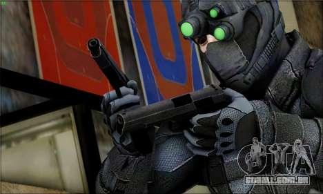 Alfa Team Weapon Pack para GTA San Andreas