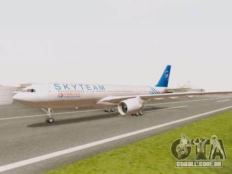 A330-202 China Eastern para GTA San Andreas