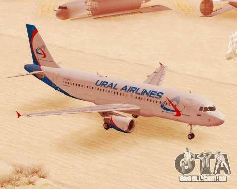 Airbus A320-200 Ural Airlines para GTA San Andreas