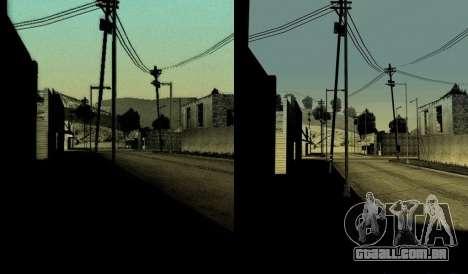 HD cartão, radar, menu para GTA San Andreas