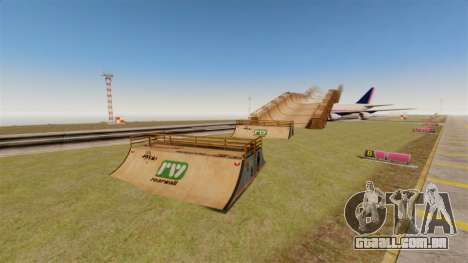 O truque Parque para GTA 4 por diante tela