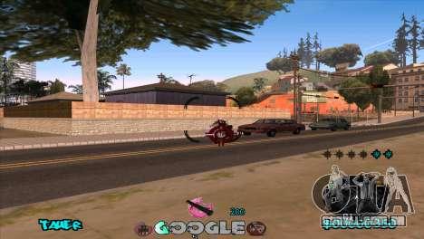 C-HUD Google para GTA San Andreas quinto tela