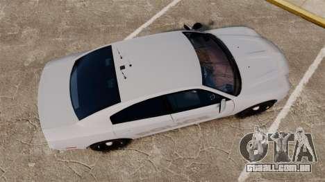 Dodge Charger 2011 LCPD [ELS] para GTA 4 vista direita
