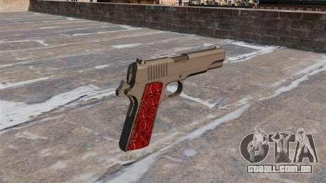 Armas Colt 1911 Chrome para GTA 4 segundo screenshot