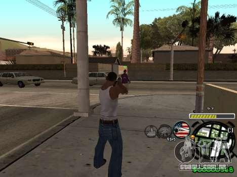 C-HUD Andy Cardozo para GTA San Andreas segunda tela