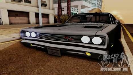 Dodge Coronet RT 1969 440 Six-pack para vista lateral GTA San Andreas