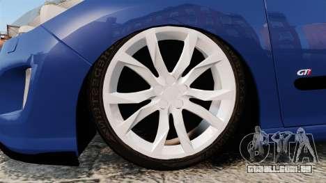 Peugeot 308 GTI para GTA 4 vista de volta