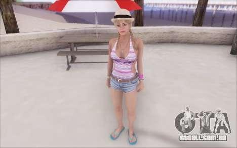 Tracey De Santa para GTA San Andreas segunda tela