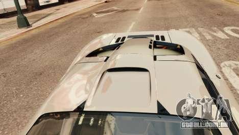 McLaren F1 XP5 para GTA 4 vista de volta