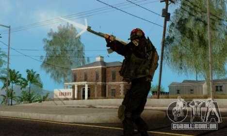 Kopassus Skin 1 para GTA San Andreas décimo tela