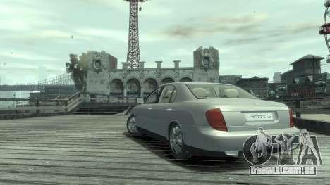 Daewoo Shiraz para GTA 4 vista direita