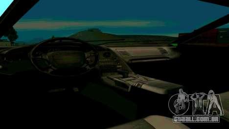Novo Turismo para GTA San Andreas vista direita