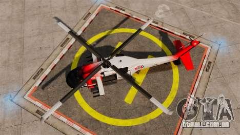 Annihilator U.S. Coast Guard HH-60 Jayhawk para GTA 4 vista direita