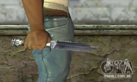 A faca de Stalker para GTA San Andreas terceira tela