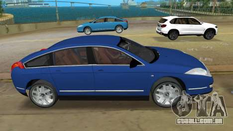 Citroen C6 para GTA Vice City deixou vista