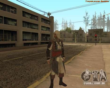 Assassino Edward para GTA San Andreas terceira tela