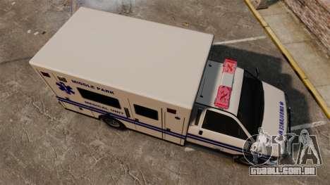 Brute MPMU Ambulance para GTA 4 vista direita